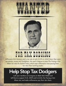 ROMNEY WANTED