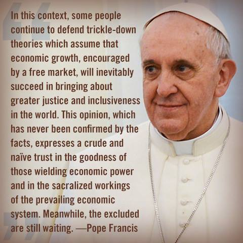 POPE - END TRICKLE DOWN