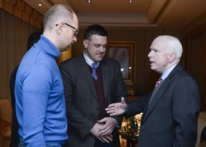 McCain with Neo-Fascists in Ukraine