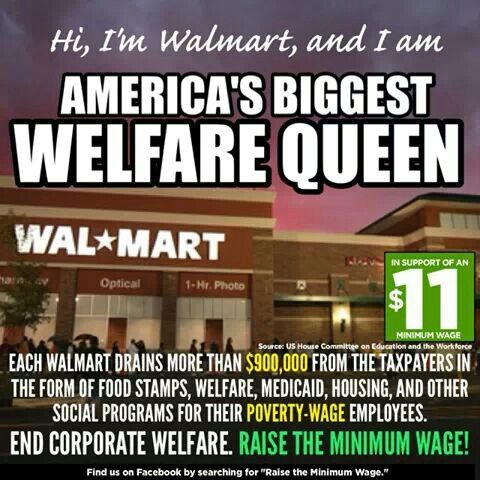 WALMART WELFARE QUEEEEN