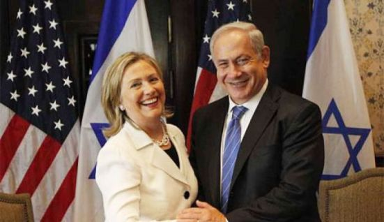 K|HILLARY AND NETANYAHU