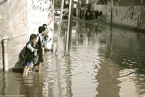 gaza-sewage-CRISES