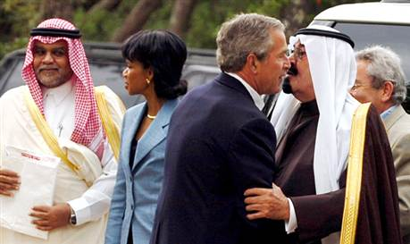BUSH KISS IN CONTEXT