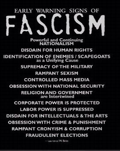 FASCISM IS A REAL THING