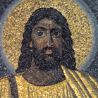 JESUS from a Rome church originated  AD530.
