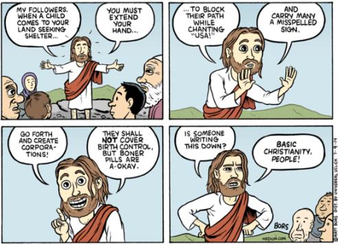 JESUS ON CHILDREN