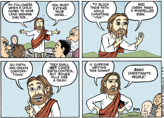 JESUS ON CHILDREN