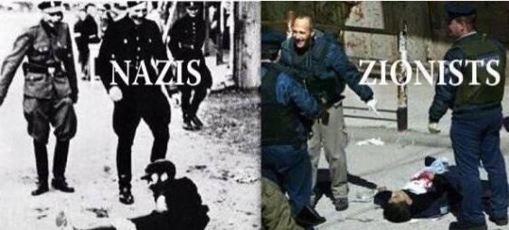 NAZIS = ZIONISTS