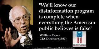 WILLIAM CASEY CIA