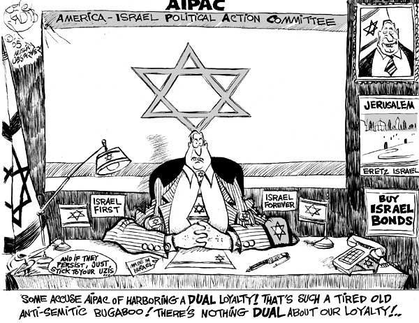 AIPAC = LOYAL TO THE BONE