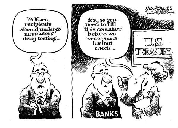 BANKSTER DRUG TESTS