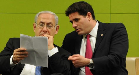 DERMER NETANYAHU = TWO DEVIANTS IN A POD
