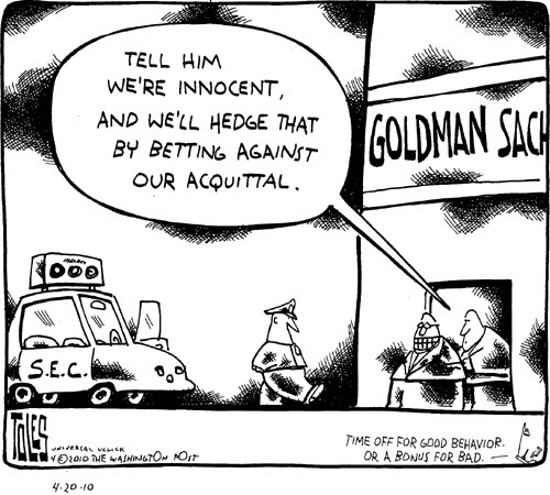 GOLDMAN NEVER SAW THE INSIDE OF A PRISON