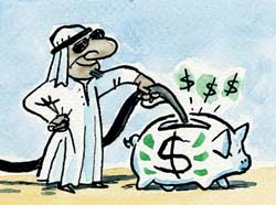 HOW THE SAUDI ARABAI USA PETRODOLLAR WORKS