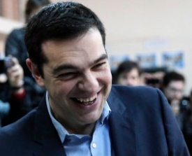 NEW YOUNG GREEK LEADER