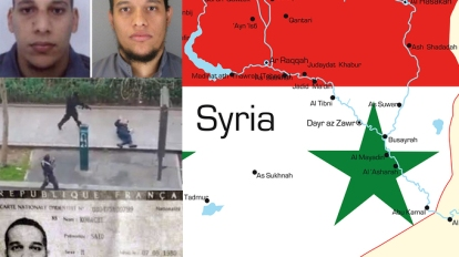 PARIS SHOOTERS SYRIA WAR