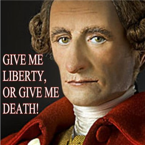 patrick-henry LIBERTY OR DEATH