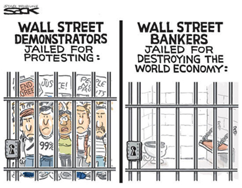 WALL STREET PRIVILEGDE = ROB EVERYTHING YOU WANT