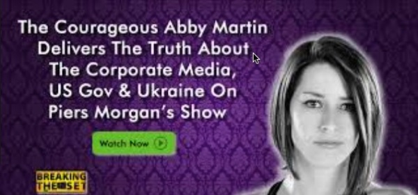 ABBY MARTIN BREAKING THE SET