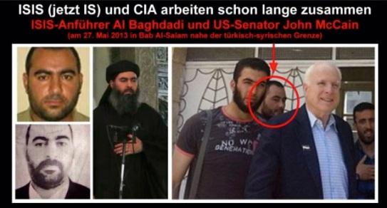 AIPAC McCAIN = SHOWS ISIS(L) = ZIONIST RUN