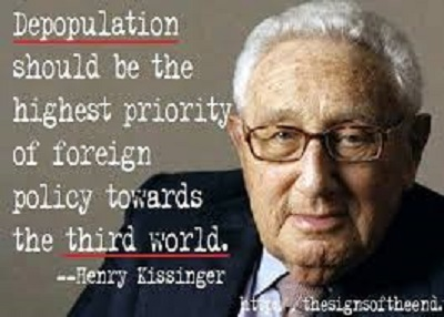 henry kissinger depopulation of the goyim