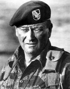 JOHN WAYNE WAR JUSTIFIED