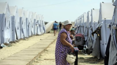 REFUGEE CAMP FOR RUSSIAN-SPEAKING UKRAINIANS