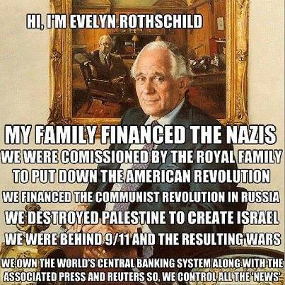 ROTHSCHILDS = SUPPORTED NAZIS