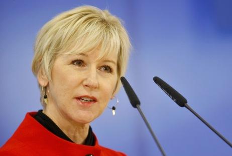 European Commission Vice President Wallstrom speaks at Brdo pri Kranju