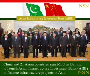 CHINESE-ASIAN INFRASTRUCTURE INVESTMENT BANK (AIIB)