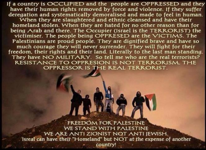 ISRAEL = TERRORIST GENOCIDAL MANIACS