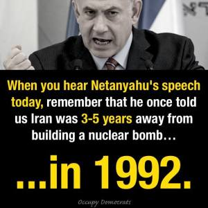 NETANYAHU SAID SAME SHIT IN 1992