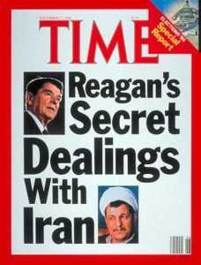 REAGAN IRAN-CONTRA SCAM