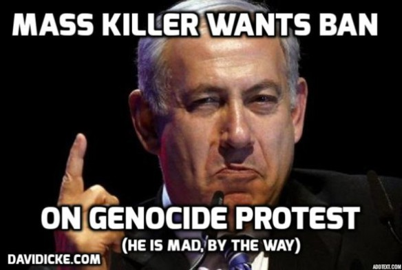 NETANYAHU = MASS MURDERER OF THOUSANDS OF CHILDREN