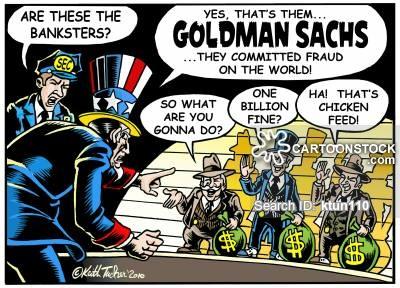 'Goldman Sachs defrauds the world!'