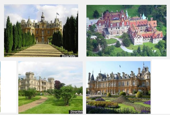ROTHSHCHILDS = A FEW OF THEIR CASTLES
