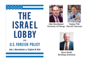THE ISRAEL LOBBY BY MEARSHEIMER AND WALT