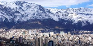 Mountains and Tehran