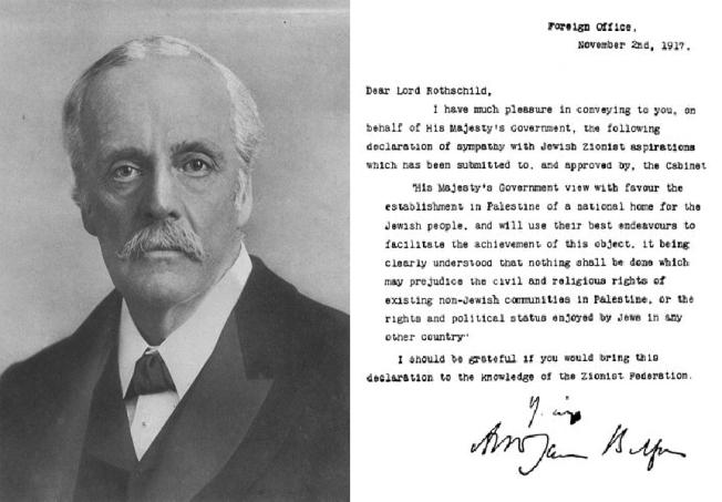 ROTHSCHILDS Balfour Declaration
