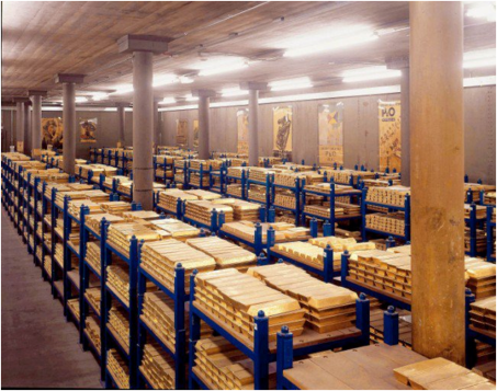 ROTHSCHILDS GOLD VAULTS = THIS IS JUST ONE OF THEM.
