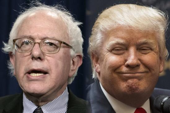 Sanders (BRILLIANT) VS. Trump (DIMWITTED 4 BANKRUPTCIES)