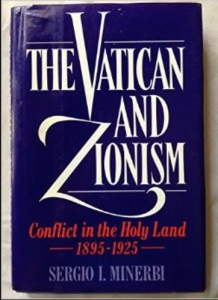 VATICAN AND ZIONISM = ENEMIES