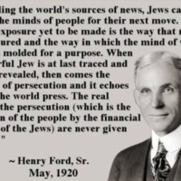 ISRAEL + THE MEDIA + AND THE ANATOMY OF A SICK SOCIETY = HENRY FORD QUOTE = JEWS OWN AND MANIPULATE THE MEDIA WITH LIES AND PROPAGANDA