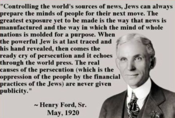 Image result for henry ford quotes jews