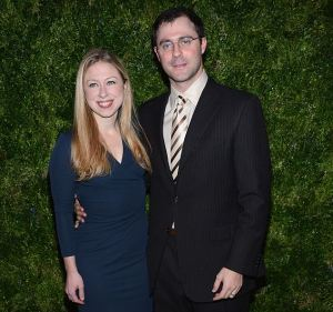 NEW YORK, NY - NOVEMBER 13: Chelsea Clinton and Marc Mezvinsky attend The Ninth Annual CFDA/Vogue Fashion Fund Awards at 548 West 22nd Street on November 13, 2012 in New York City. (Photo by Dimitrios Kambouris/Getty Images)