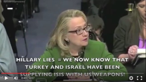 HILLARY LIES ABOUT EMAILS AND HER CRIMINAL ACTIONS AS SECRETARY!