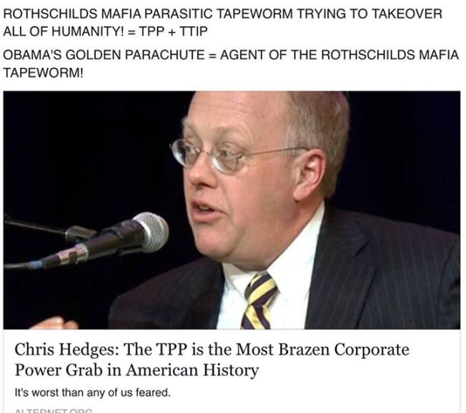 ROTHSCHILDS MAFIA PARASITIC TAPEWORM TRYING TO TAKEOVER ALL OF HUMANITY! = TPP + TTIP OBAMA'S GOLDEN PARACHUTE = AGENT OF THE ROTHSCHILDS MAFIA TAPEWORM!