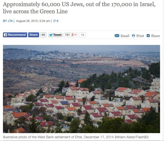60000 AMERICAN JEWISH SQUATERS LIVING IN LUXURY ON PALESTINIAN LANDS