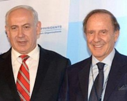 NETANYAHU & MORTIMER = AGENTS OF THE ROTHSCHILDS ZIUONIST MAFIA!