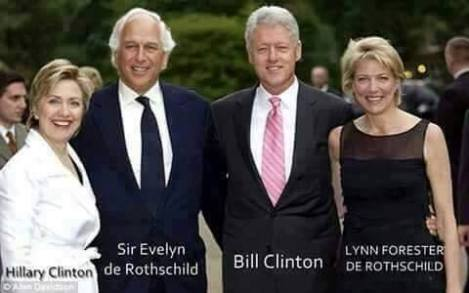 CLINTONS = AGENTS OF THE ROTHSCHILDS ZIONIST MAFIA -- DO YOU NEED MORE PROOF? I HAVE MASSIVE QUANTITIES OF IT!